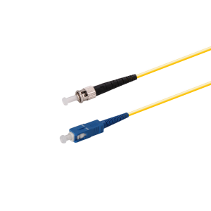 SC-ST Fiber-Optic-Patch-Cable-Singlemode-Simplex-Fiber-Jumpers-1M