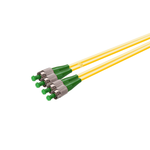 FC Fiber Optic Patch Cable Single-mode Duplex 2.0mm 3m