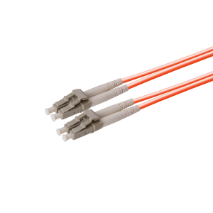 LC to LC Multimode Duplex Fiber Optic Patch Cable 2.0mm