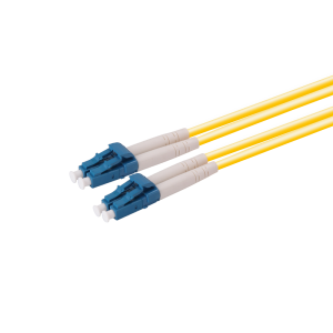 2 Core Fiber Optic Patch Cord SM LC/LC 10m. long 2.0mm