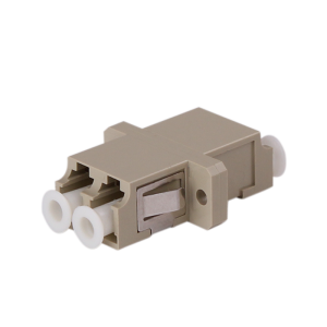 LC Fiber Optic Multimode 50/125 Loopback Adapter/Coupler Duplex