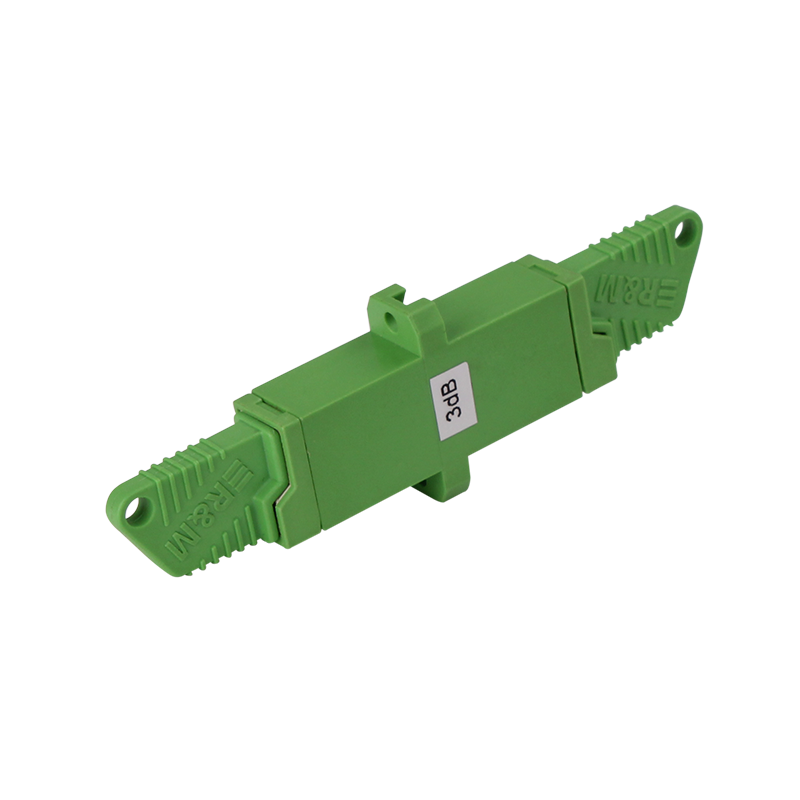 E2000 Fiber Optic Attenuator Female to Female Singlemode APC