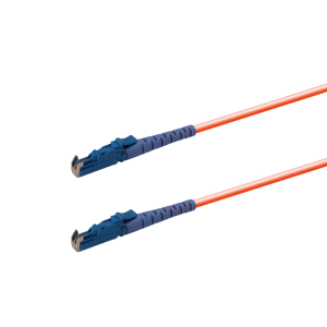E2000/UPC Multimode Optical Fiber Patch Cord Simplex 3M