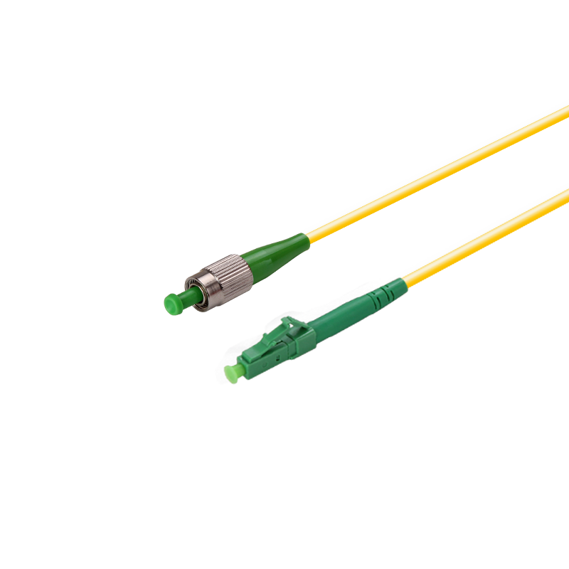 LC-FC Fiber Patch Cable Singlemode OS1 Simplex with APC type