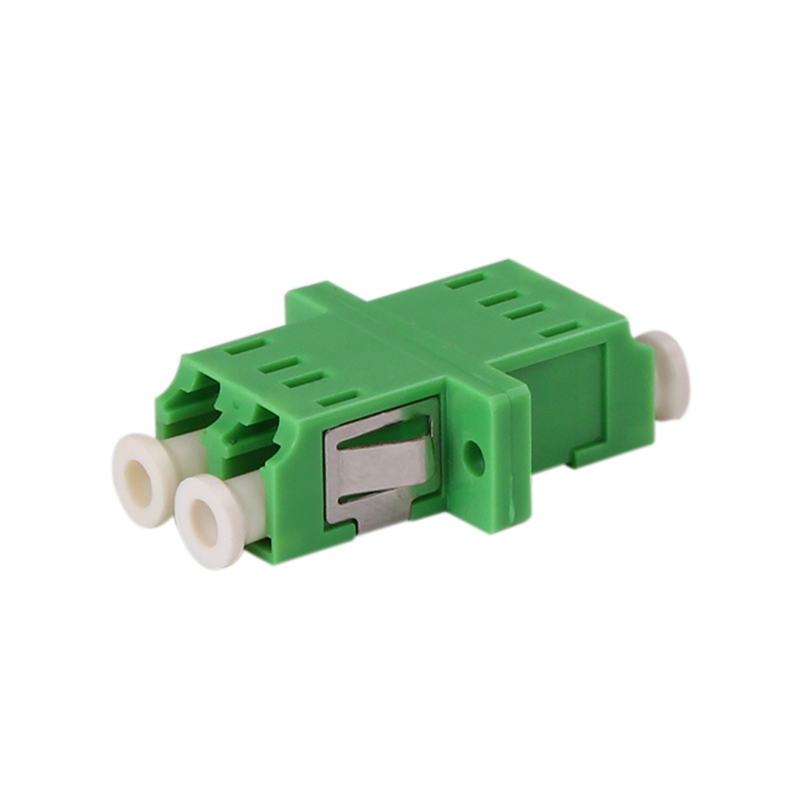 Adapter LC Duplex SM APC Polishing Fiber Optic