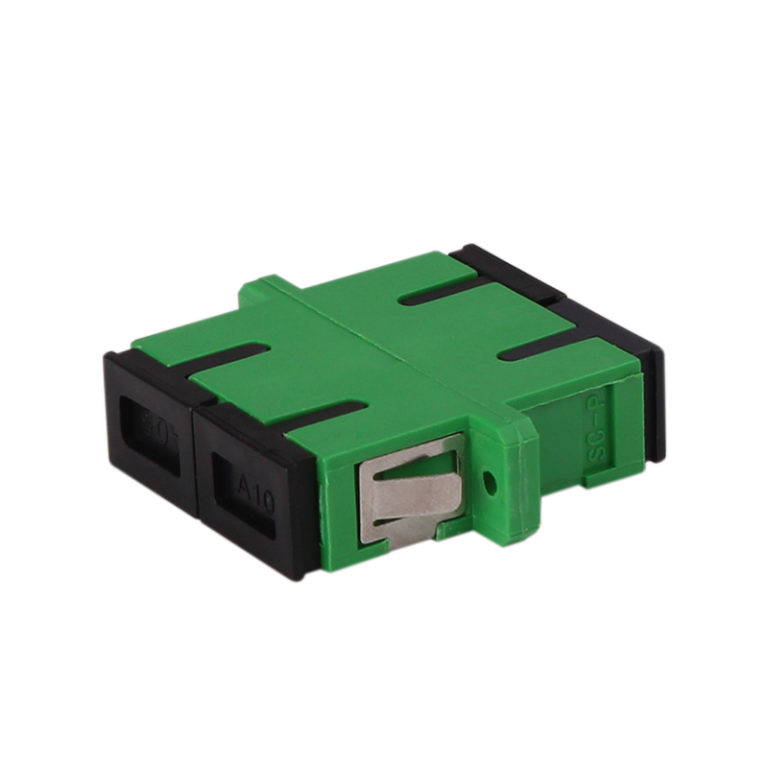 SC Adapter Duplex APC Polishing Fiber Optic Adapter Single-mode